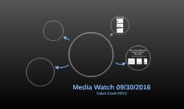 Media Watch 09/30/2016