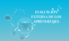 EVALUACIÓN EXTERNA DE LOS APRENDIZAJES