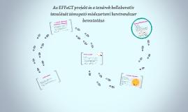 Copy of Az EFFeCT projekt és a tanárok kollaboratív tanulását támoga