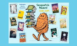 Washington State Sasquatch Award 2018-2019