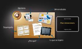 Plan Universitario