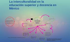 Copy of La interculturalidad en la educación básica