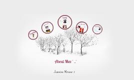 Abouut Mee ; O Jasminee Morenoo .