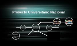 Proyecto Universitario Nacional