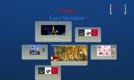 France Project- Lara Shelokov