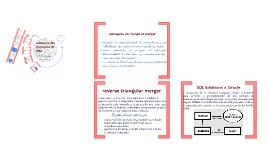 Estrutura das operações de M&A