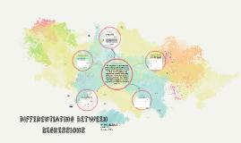 Differentiating between Regressions