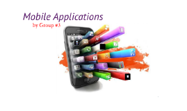 Copy of Mobile Applications