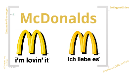 McDonalds in German Speaking Countries