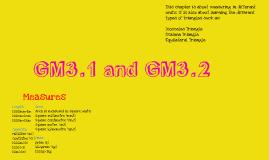GM3.1 & GM3.2