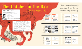 Pd. 1: The Catcher in the Rye