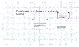 First Chapter Harry Potter and the deathly hallows
