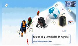 Copy of BCM - Gestión de la Continuidad del Negocio