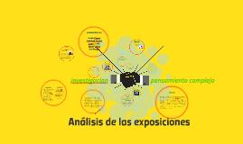 Analisis de las exposiciones