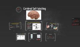 Copy of Cerebral Salt Wasting