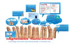 integriteitsbeleid Vlaamse overheid