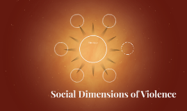 Social Dimensions of Violence