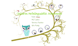 Children Metalinguistic Awareness