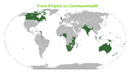 From Empire to Commonwealth