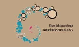 Copy of Fases del desarrollo de competencias comunicativas