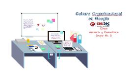 Copy of Ejemplo de Cultura Organizacional Google y Cervecería Hondureña