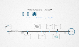 Timeline Prezumé by zhang chunyuan