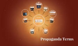 Propaganda Terms