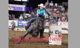 Barrell Racing News