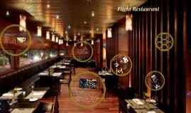 Copy of Flight Restaurant