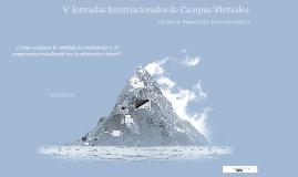 V Jornadas Internacionales Campus Virtuales