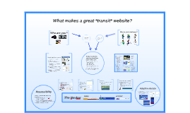 What makes a great *transit* website?