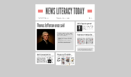 NEWS LITERACY TODAY