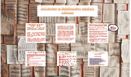 Äidinkielen ja kirjallisuuden opiskelu lukiossa