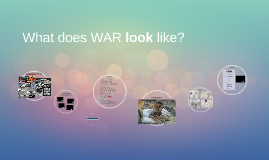What does WAR look like?