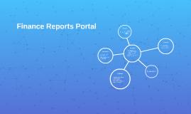 Finance Reports Portal