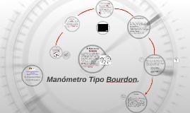 Copy of Manómetro Tipo Bourdon.