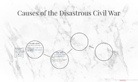 Causes of the Disastrous Civil War