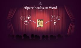 Hipervínculos en word