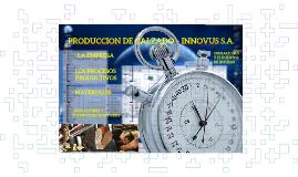 Producción de Calzado – Empresa Innovus S.A.