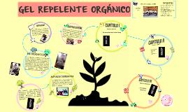 Gel repelente orgánico