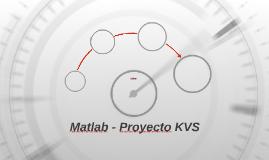 Matlab - Proyecto KVS