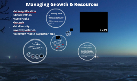 12.2: Managing Growth & Resources