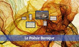 Le Poésie Baroque