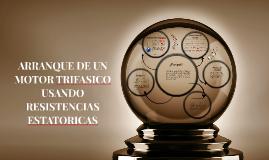 ARRANQUE CON RESISTENCIAS ESTATORICAS