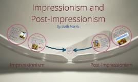 Copy of Impressionism & Post-Impressionism
