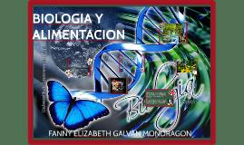 BIOLOGIA Y ALIMENTACION