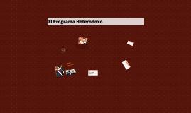 El Programa Heterodoxo