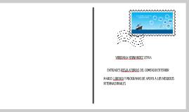 Copy of ENTIDADES REGULADORAS DEL COMERCIO EXTERIOR