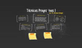 Copy of Técnicas Proyectivas 1