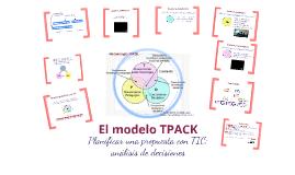 El modelo TPACK (versión sintética)